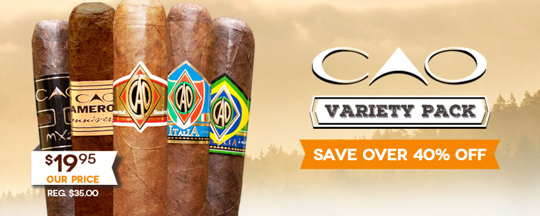 CAO Variety Pack Cigars