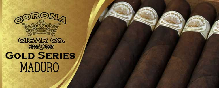 Corona Gold Series Maduro Cigars