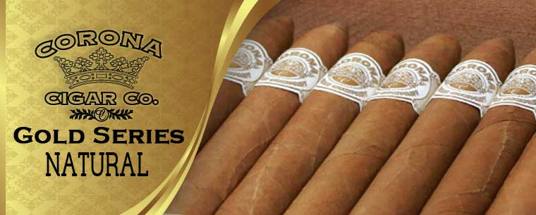 Corona Gold Series Natural Cigars