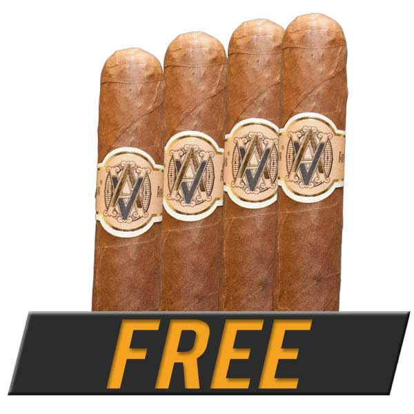 Free 4-Pack of Avo Classic Cigars with Box Purchase