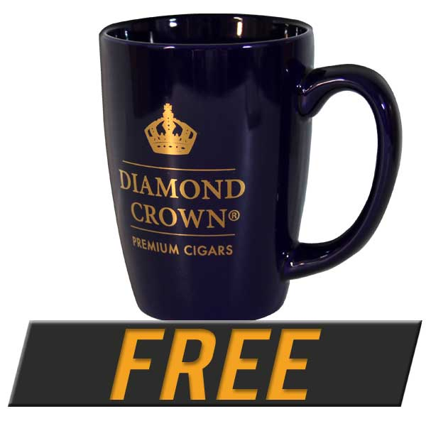 Free Diamond Crown Coffee Mug with box purchase of select Diamond Crown Products.